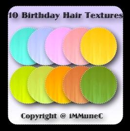 10 Birthday Hair Textures