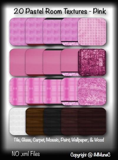 20 Pink Pastel Room Textures