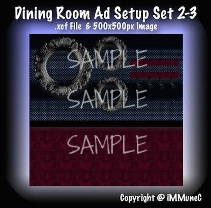 1 Dining Room Advertisement Set 2-3