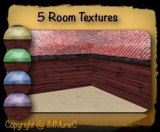 5 Room Textures (Set 12)