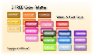 3 FREE Color Palettes created by iMMuneC @ IMVU