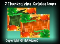 2 Thanksgiving Catalog Icons