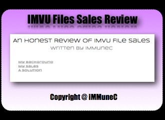 An Honest Review of IMVU File Sales