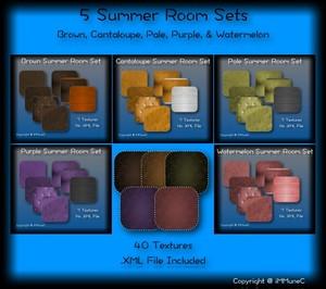 40 Summer Room Textures