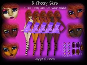5 Cheery Skin Textures