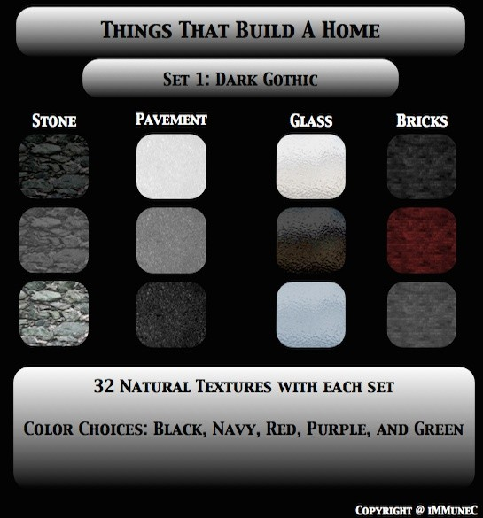 82 Dark Gothic Room Textures With Resell Rights