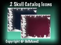 2 Skull Catalog Icons