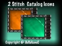 2 Stitch Catalog Icons