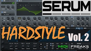 Midifreaks - Serum Hardstyle Remakes Vol 2