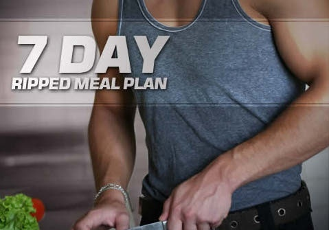 LEAN BODYBUILDER - 2600 kcal (7 DAY MEAL PLAN)