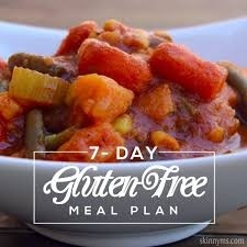 GLUTEN FREE - 1300 kcal (7 DAY MEAL PLAN)