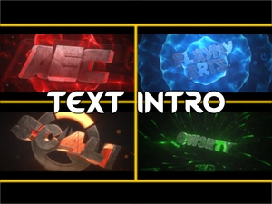 Intro | Text 3D ( FULL ORDERSSSSSS )