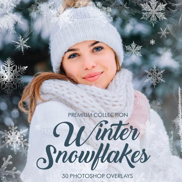Winter Photoshop Overlays