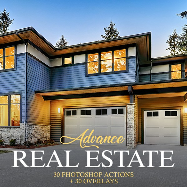 Advance Real Estate Photoshop Actions