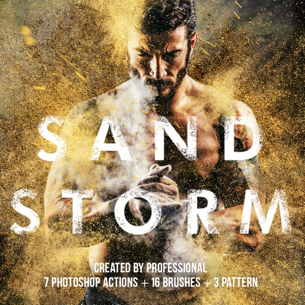 Sandstorm Photoshop Actions