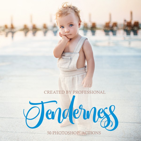 The Tenderness Collection Photoshop Actions
