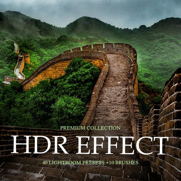 HDR Effect Lightroom Presets