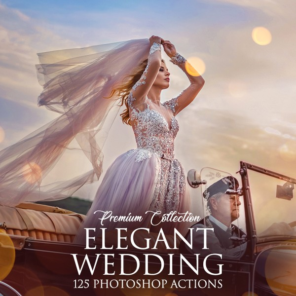 Elegant Wedding Photoshop Actions