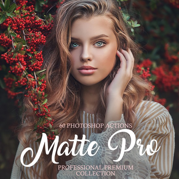 Matte Pro Photoshop Actions