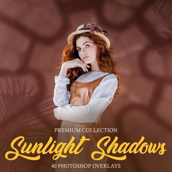 Sunlight Shadows Photoshop Overlays