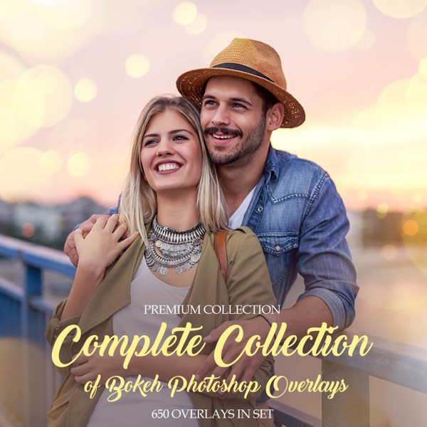 Bokeh Photoshop Overlays - Full Collection