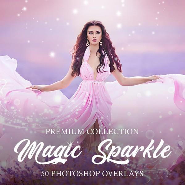 Magic Sparkle Photoshop Overlays