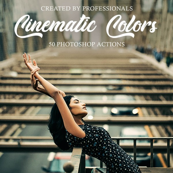 Cinematic Colors Photoshop Actions