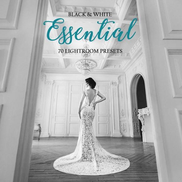 B&W Essential Wedding Lightroom Presets