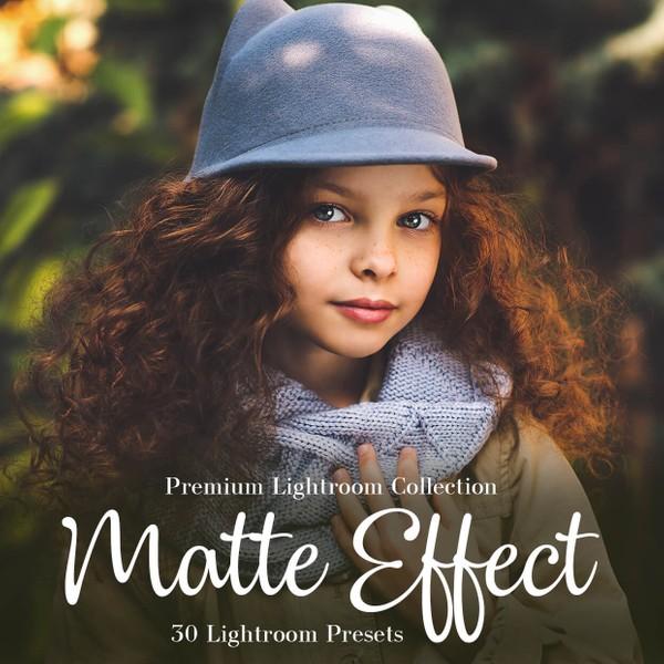 Matte Effect Lightroom Presets