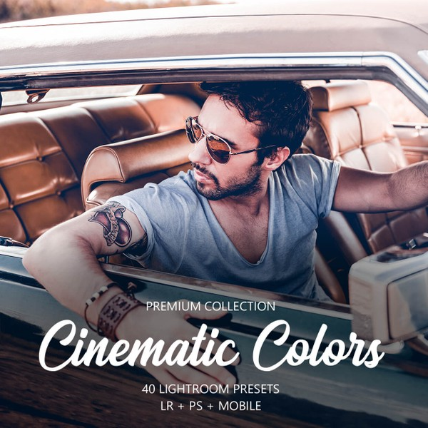 Cinematic Colors Lightroom Presets