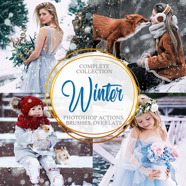 Winter Photoshop Actions - Complete Collection