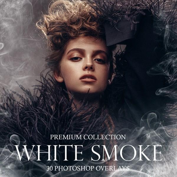 White Photoshop Smoke