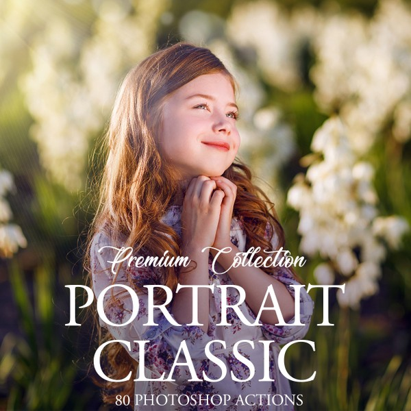 Portrait Classic Photoshop Actions