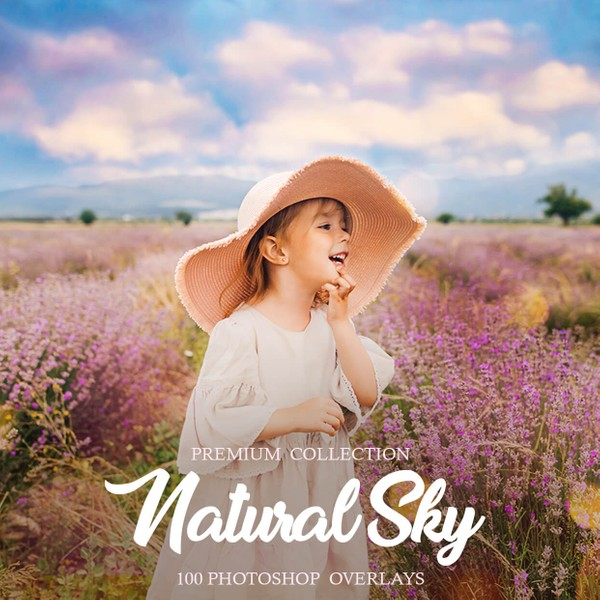 Natural Sky Photoshop Overlays