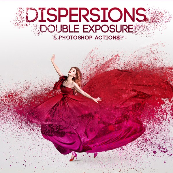 Dispersion Effect Photoshop Actions