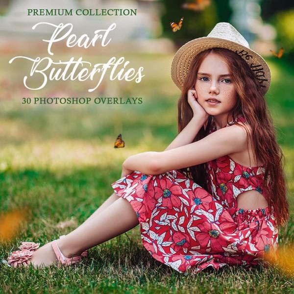 Butterflies Photoshop Overlays