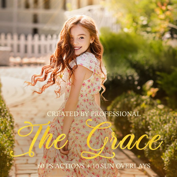 The Grace Collection Photoshop Actions
