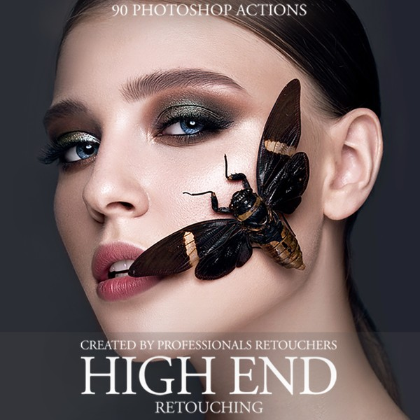 High End Retouching Photoshop Actions