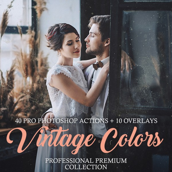 Vintage Colors Photoshop Actions