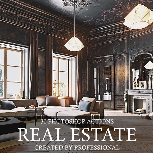 Real Estate Photoshop Actions