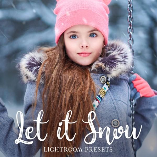 Let it Snow Lightroom Presets