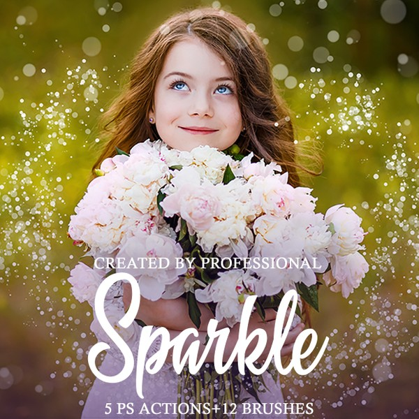 Sparkle Photoshop Actions