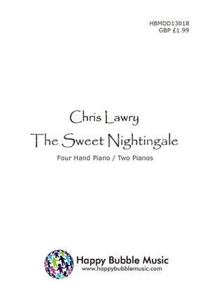 The Sweet Nightingale (for 4 Hands Piano / 2 pianos)