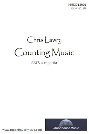 Counting Music - SATB Choir Score