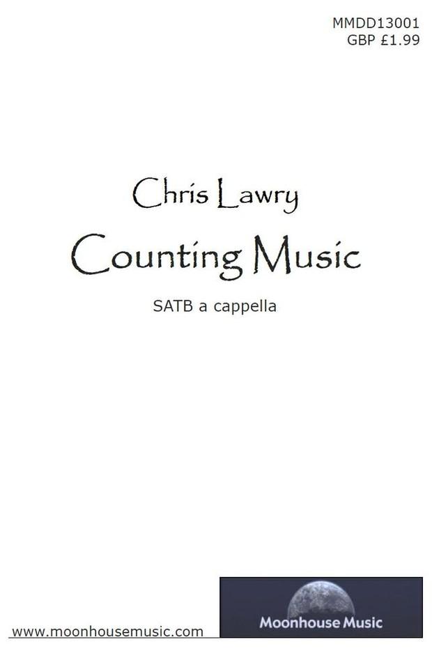 Counting Music - SATB Choir Score