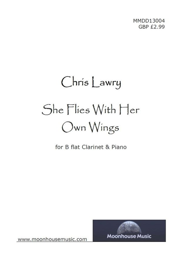 She Flies With Her Own Wings - Bb Clarinet & Piano