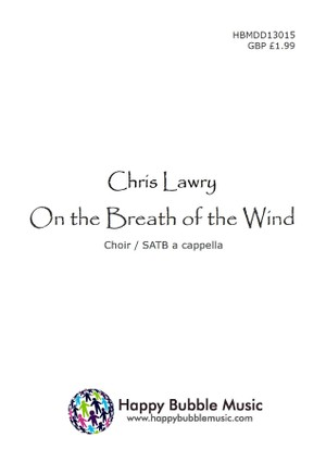 On the Breath of the Wind - SATB Score