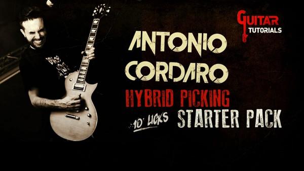 Antonio Cordaro - Hybrid Picking Starter Pack