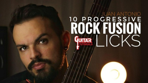 Juan Antonio - 10 Progressive Rock Fusion Licks