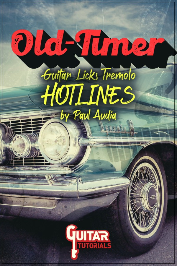 Paul Audia - Old Timer Tremolo Guitar Hotlines